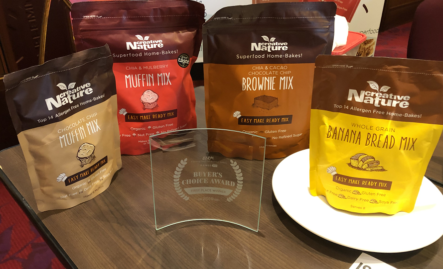 ECRM - Creative Nature, Merzdorf Win Euro Food Buyers Choice