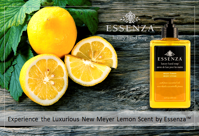 Essenza- Luxury Meyer Lemon Hand Soap by Olympic Mountain