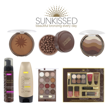 Sunkissed Affordable luxurious self-bronzing cosmetics by Sheralven Enterprises Ltd.