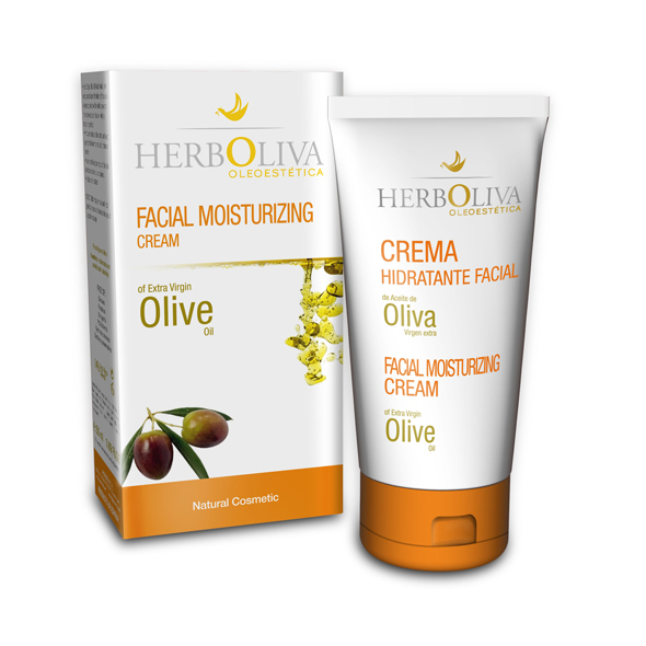 MOISTRIZING FACIAL CREAM made of Extra Virgin Olive Oil by Herboliva