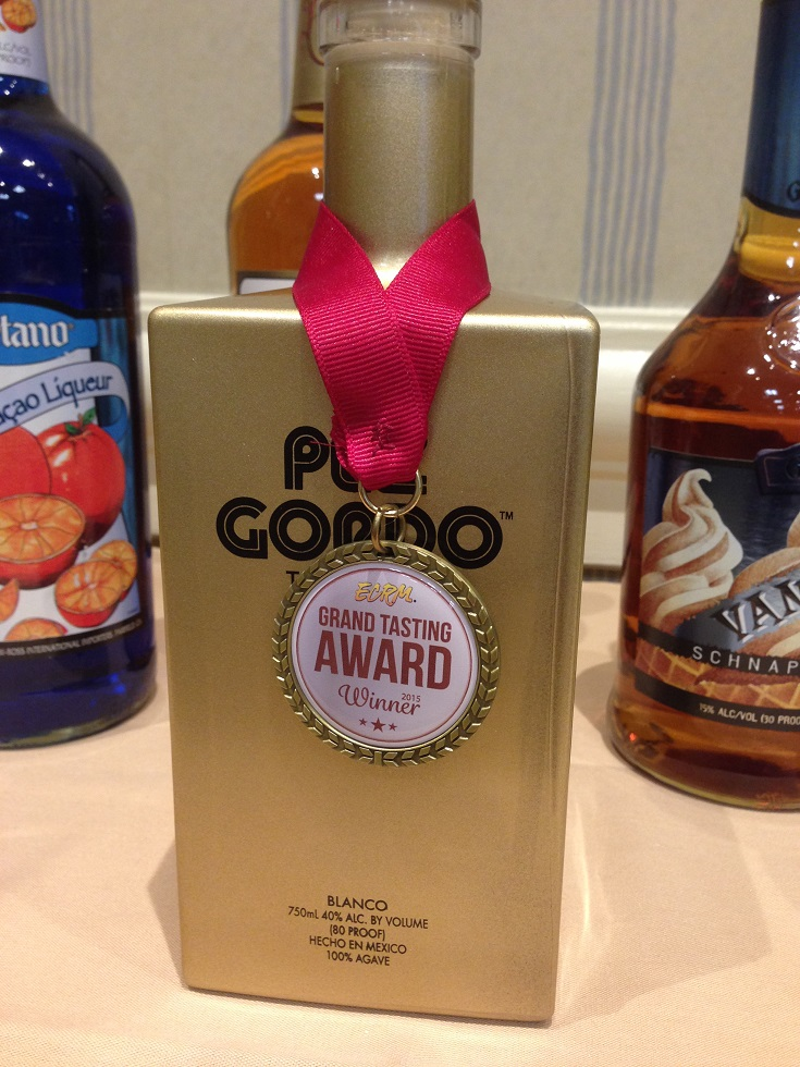 Pez Gordo Blue Agave Tequila, from Shaw-Ross International Importers, winner of the On-Premise Award