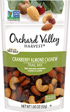 Cranberry Almond Cashew Trail Mix by Sun Valley Orchard Harvest