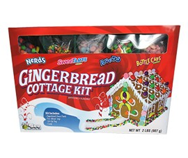 Nestle Gingerbread Cottage Kit 2lb by Bee International