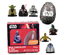 Star Wars Chocolate Surprise with Toy. CP/36. SRP $2.99 by Galerie