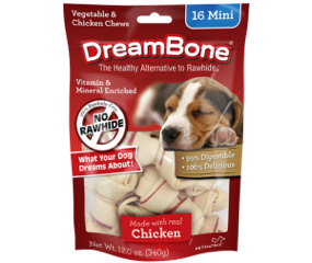 DreamBone Chews-the Healthy Alternative to Rawhide by PetMatrix