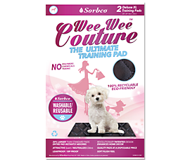 Wee Wee Couture – The Ultimate Pet Training Pad by Sorbco