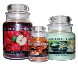 Cheerful Candles, Fragrance That Makes You Smile! by A Cheerful Giver, Inc.