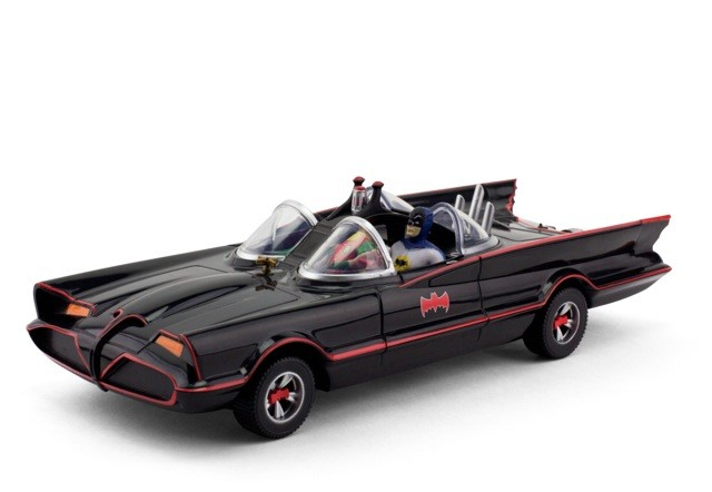 NEW Batmobile with Mini Bendable Figures by N J Croce Co.