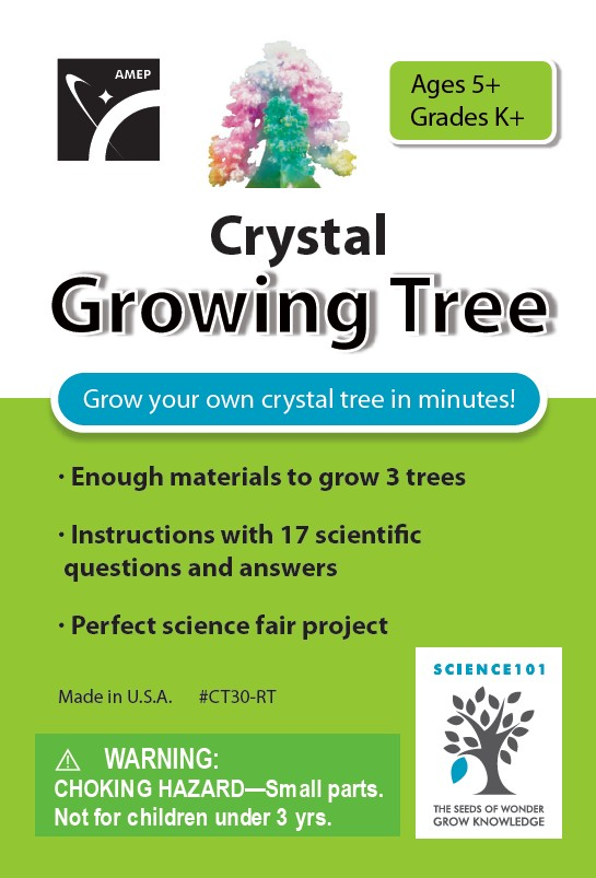 Watch these trees grow crystals before your very eyes! by American Educational Products