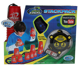 Sport stacking with Speed Stacks is the fun new sport that builds coordination and speed by Speed Stacks Inc.