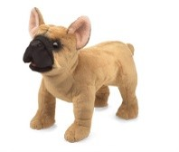 Folkmanis® French Bulldog Puppet
