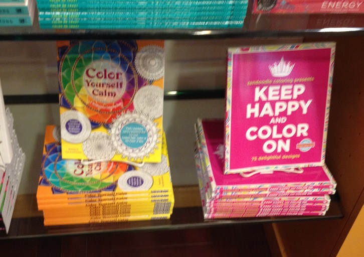 Many adult coloring books focus on delivering relaxation or stress reduction to the user.