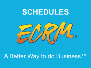 Each event meeting schedule is customized to fit the needs of each company in attendance.  Watch this video to learn more about how meeting schedules are created and how they can be reviewed before and during ECRM events.