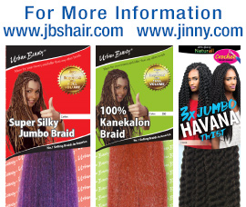 #1 selling braids in America by Jinny Beauty Supply