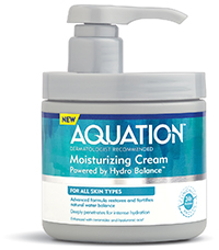 Aquation dermatologist recommended 24 hr hydration by Advanced Beauty