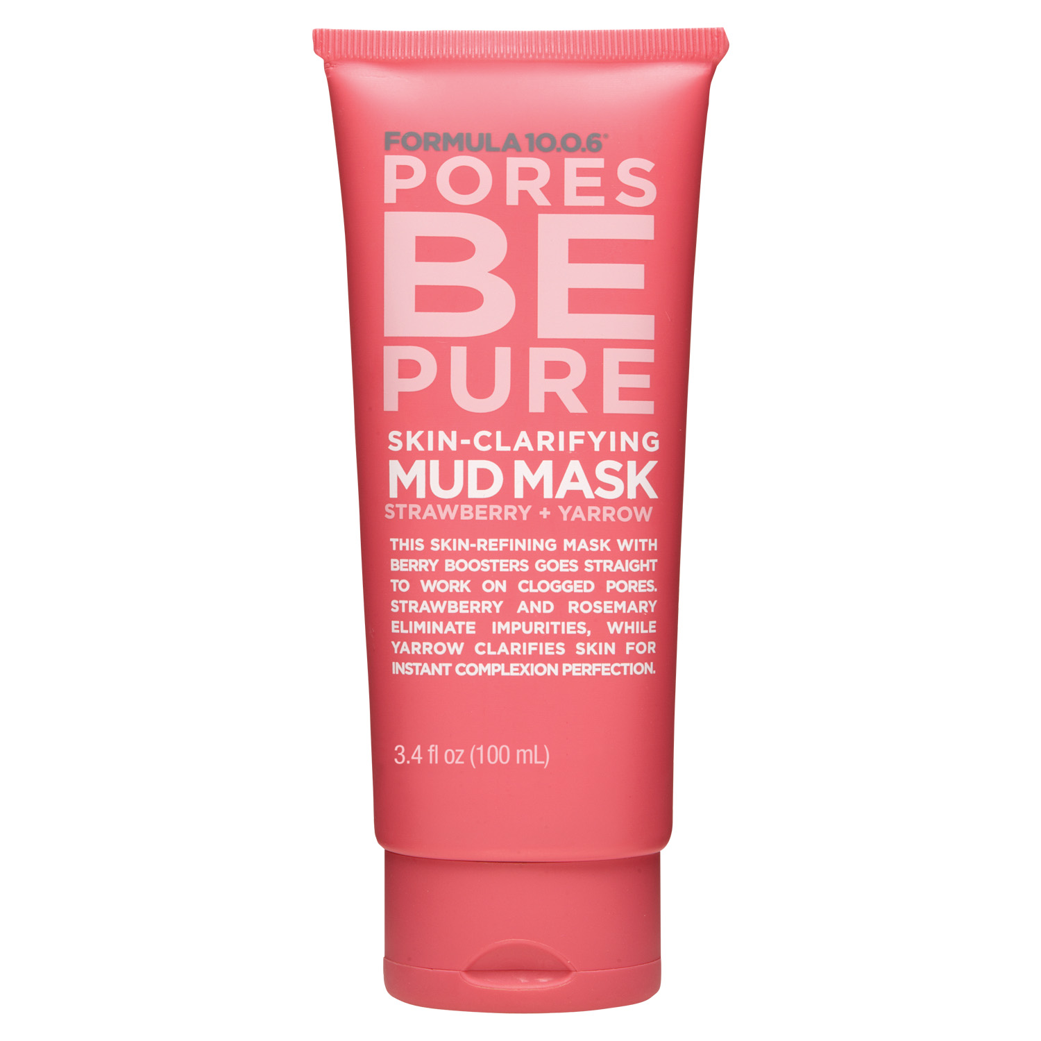 Formula 10.0.6 Pores Be Pure Skin-Clarifying Mud Mask by Aspire Brands