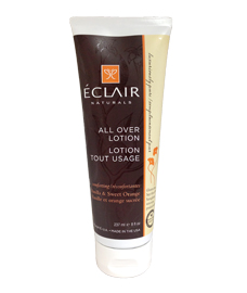 Luxuriously pure body care by Éclair Naturals