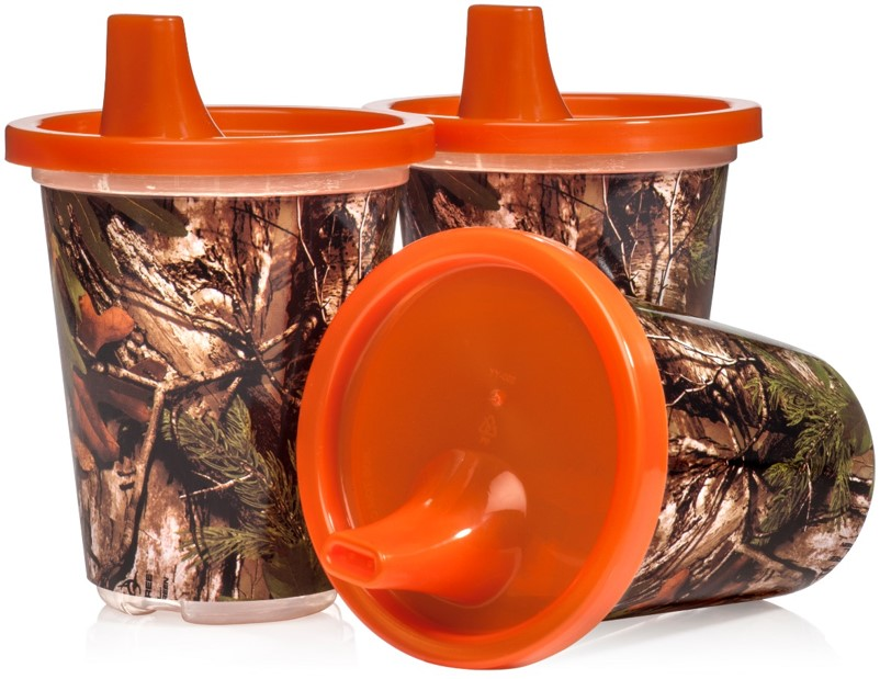 RealTree 3 Pack Single Wall Sippy Cup by Copia Products