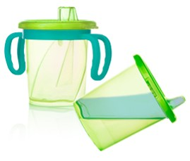 Tilty TripleFlo Trainer Cup by Evenflo Feeding