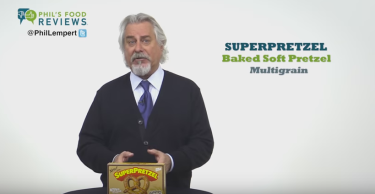 Phil Lempert's Pick of the Week for January 8 is SUPERPRETZEL Multigrain Soft Pretzel