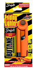 Scripto® Emergency Folding Lighter & Butane Kit by Calico