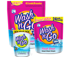 Value Price Wash 'n Go Unit Dose Detergent by Detergent 2.0