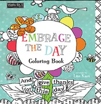 WSBL Adult Coloring Book-100 designs, acid-free perforated pages by Perfect Timing Inc.