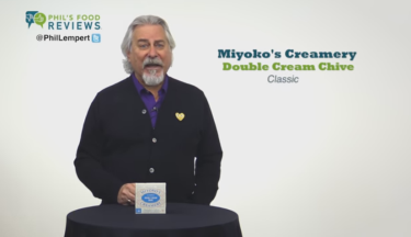 Phil's Pick of the Week is Miyoko's Creamery Classic Double Cream Chive