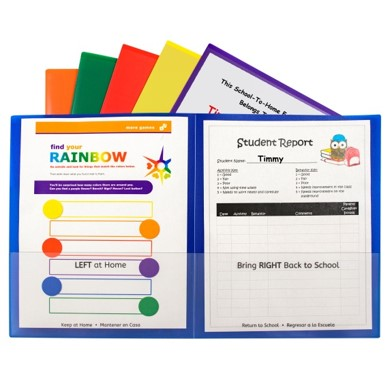 Classroom Connector Folders by C-Line Products