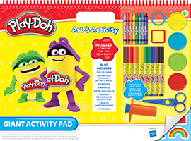 Leap Year introduces the Play-Doh Giant Activity Pad
