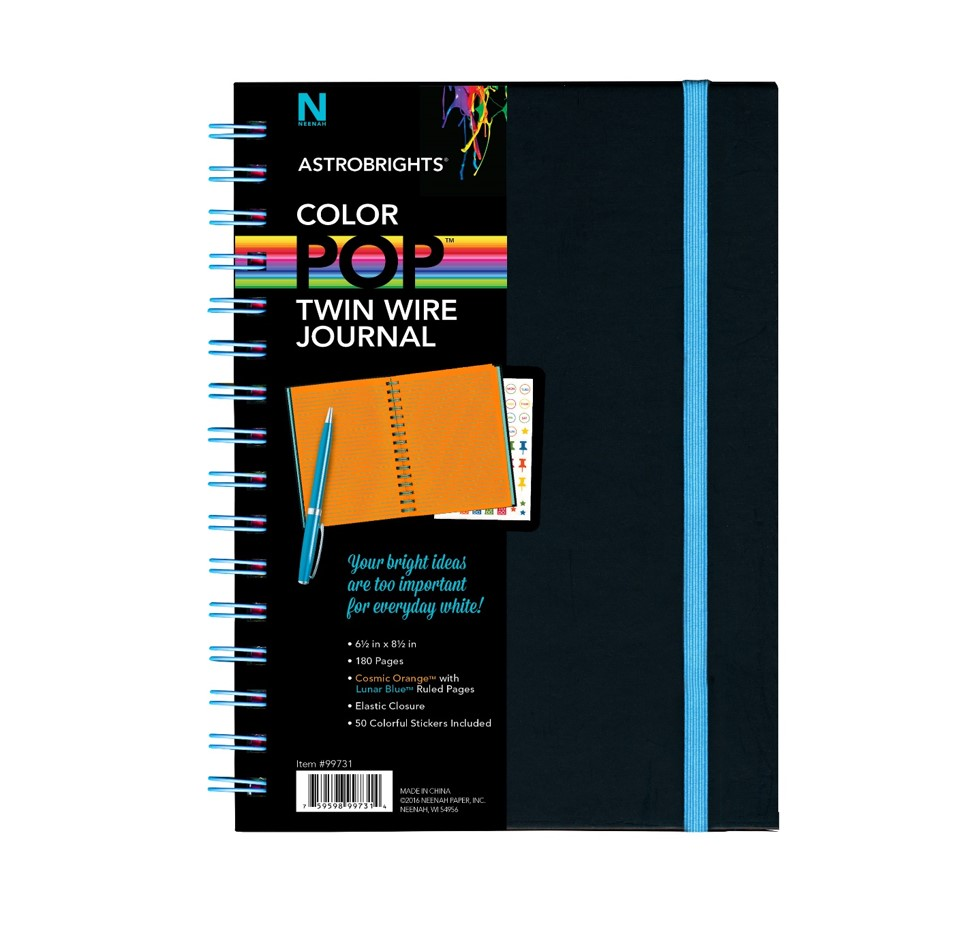 Astrobrights® Twin Wire Journal, from Neenah Paper