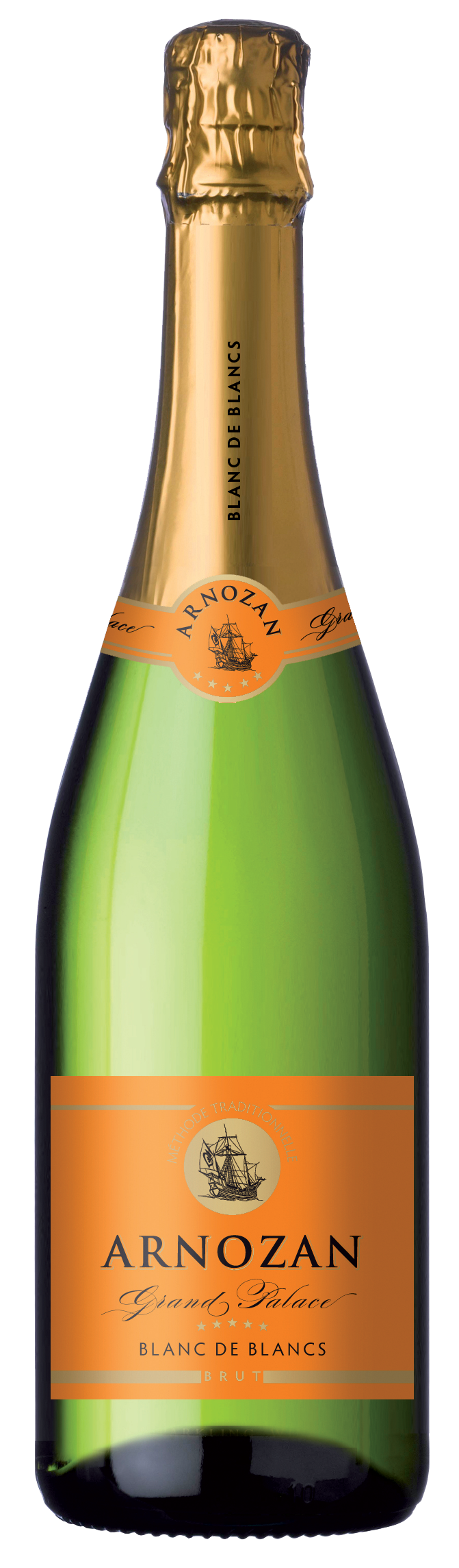 Arnozan, is a Crémant de Bordeaux from Producta Vignobles by PRODUCTA VIGNOBLES