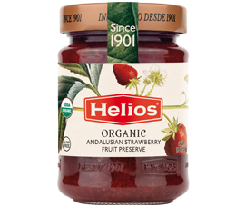 Organic Andalusian Strawberry Fruit Preserve by Dulces Y Conservas Helios, S.A.