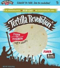 Non-GMO, all-natural, preservative-free tortillas by Fresca Mexican Foods