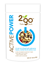 2go Functional Trail Mix: all natural, single serve pouches by Loco Brands