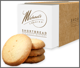 Shortbread made with baobab, a super antioxidant by Michael's Bakery Products