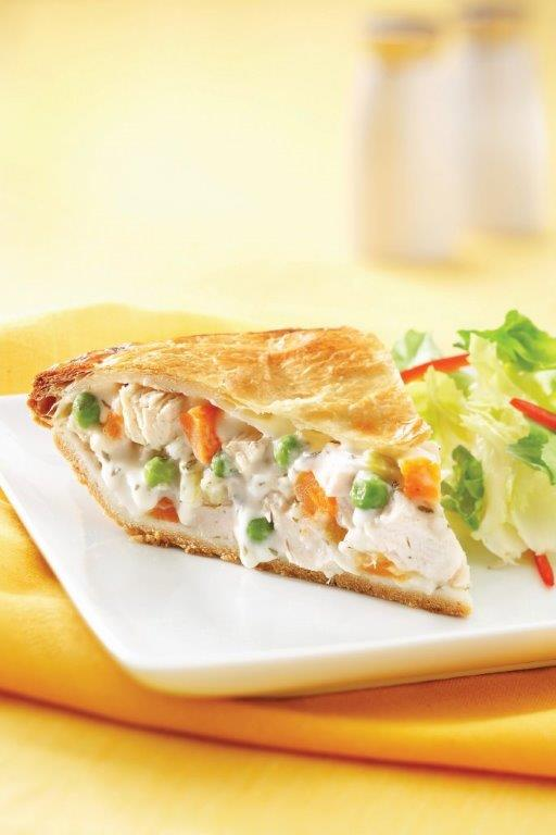St-Hubert offers a vast selection of savory pies