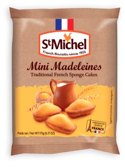 The Plain Madeleine by St. Michel Biscuits