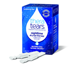 TheraTears® Nighttime Dry Eye Therapy Preservative Free Lubricant Eye Gel by Akorn Consumer Health