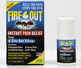 Fire Out® Pain Relieving Liquid Roll-On by Randob Laboratories Ltd