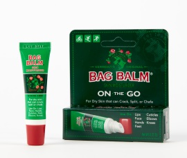 Try the new Bag Balm On-the-Go tube pack by Vermont's Original