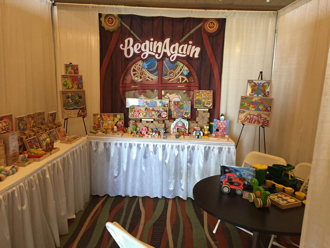 Specialty Toy EPPS: BeginAgain had great product displays to offer buyers.