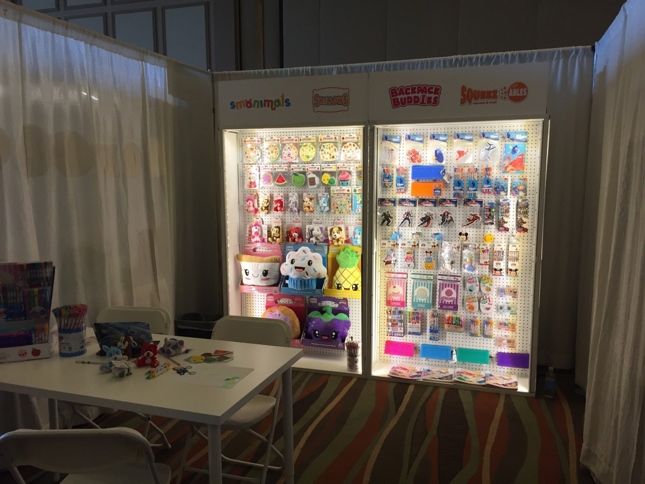 Specialty Toy EPPS: Scentco, Inc. caught the attention of the buyers with this great display.