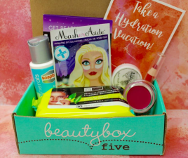 Beauty Box 5 is a subscription-based, beauty sampling service that delivers 5 deluxe samples and full-sized products right to your door every month.