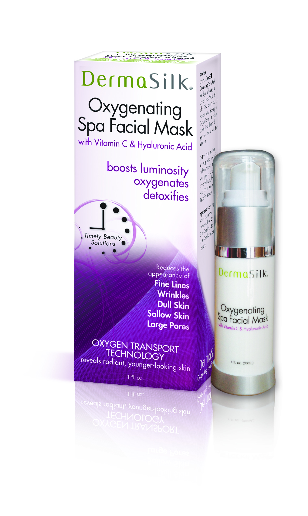 DermaSilk Oxygenating Spa Facial Mask
