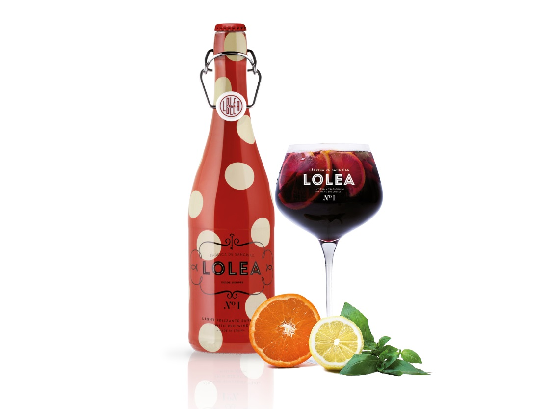Sangria Lolea Frizzante All Natural from Spain by Bodega & Company