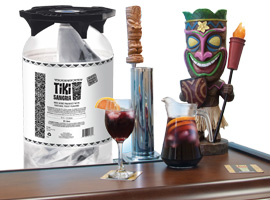 Profit with Tiki – authentic Spanish draft Sangria by Brothers International Food Corporation