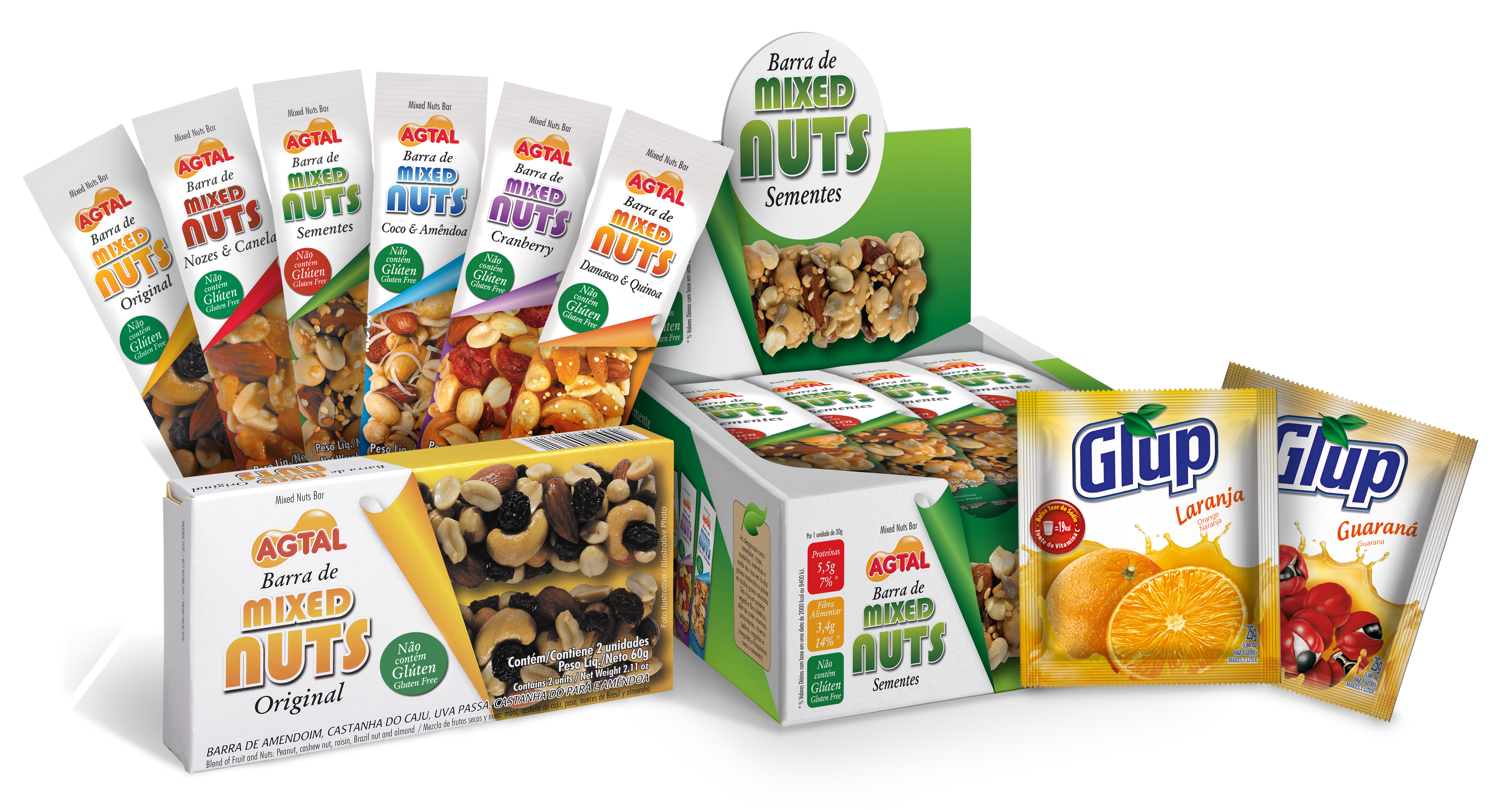 Enova Foods line of Mixed Nuts