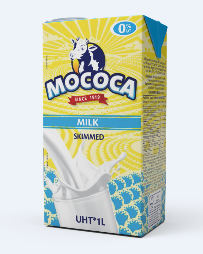 Mococa's Shelf Stable Milk