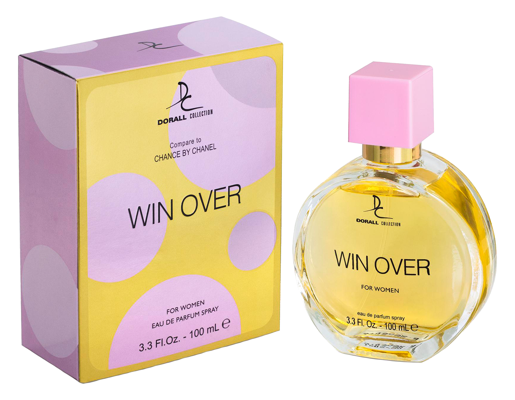 "Dorall Collection's ""Win Over"" by Arion Perfume & Beauty Inc."